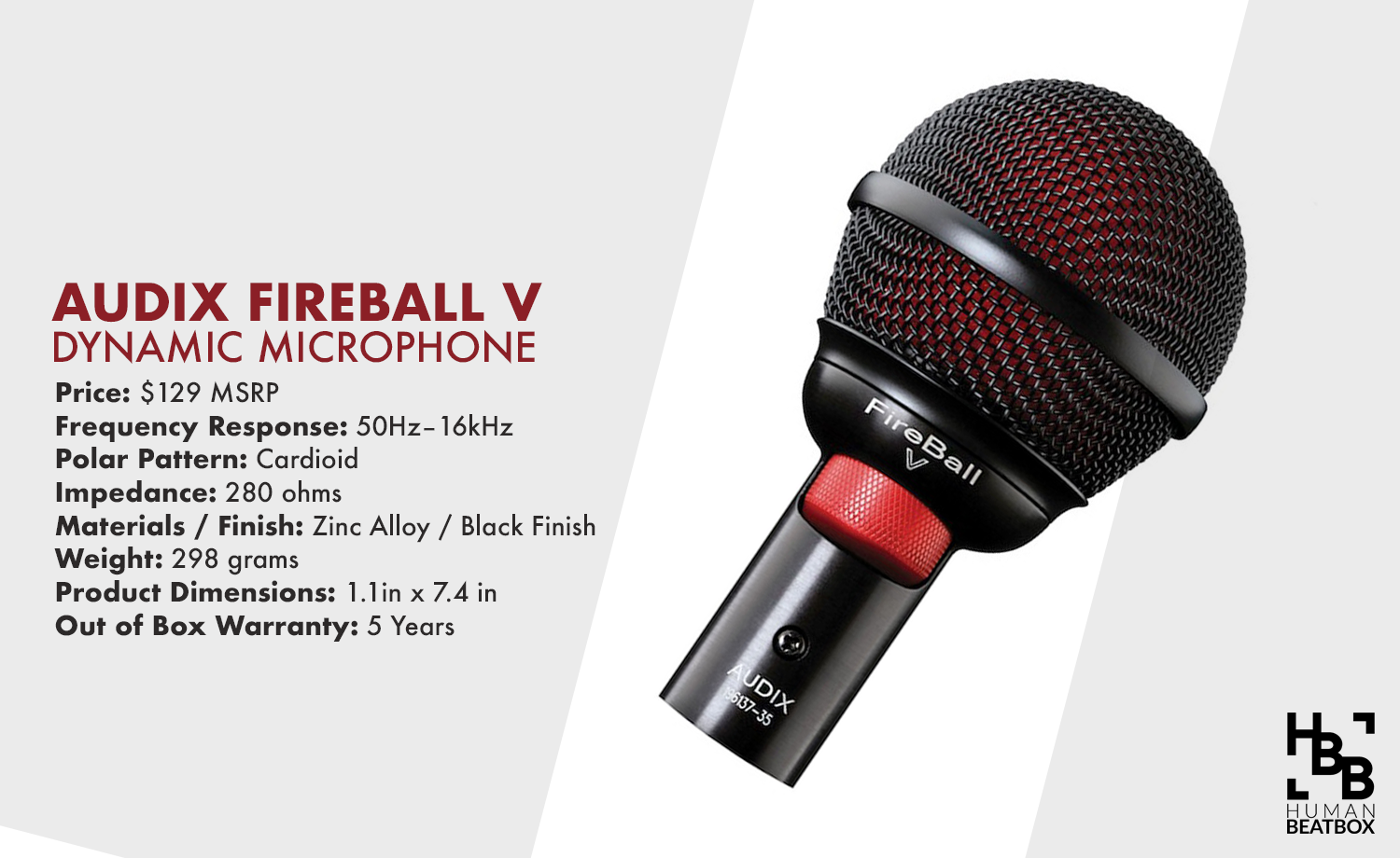 audix-fireball-v-microphone