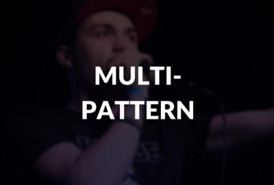 Multi-pattern defined.