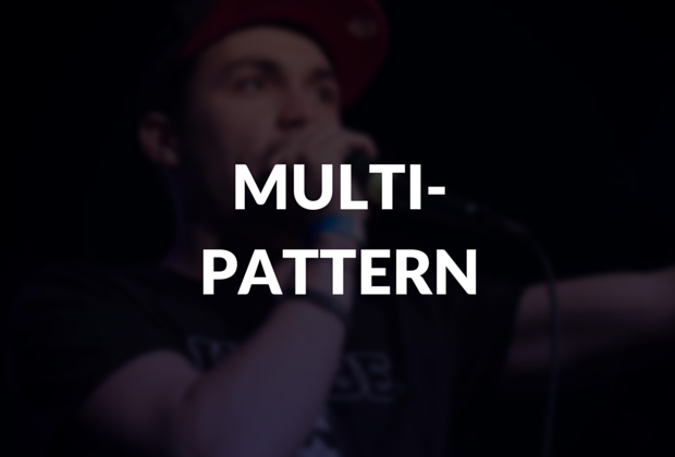 Multi-pattern defined.