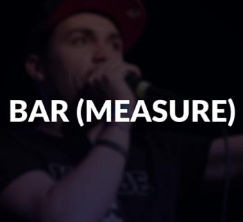 Bar (measure) defined.