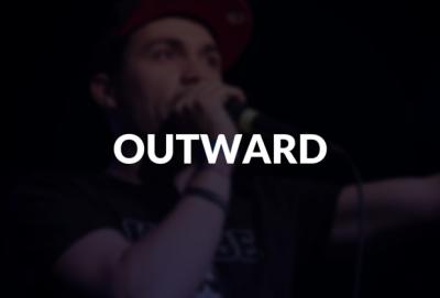 Outward defined.