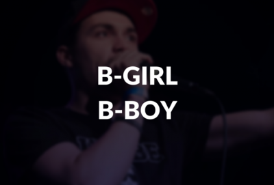 B-girl and B-boy defined.