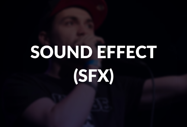 Sound effect (sfx) defined.
