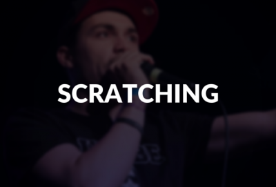 Scratching defined.