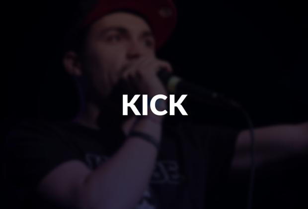 Kick defined.