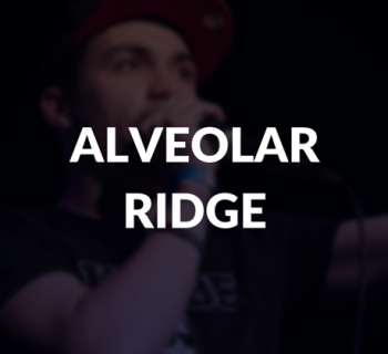 Alveolar ridge defined.
