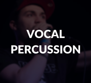 Vocal percussion defined.