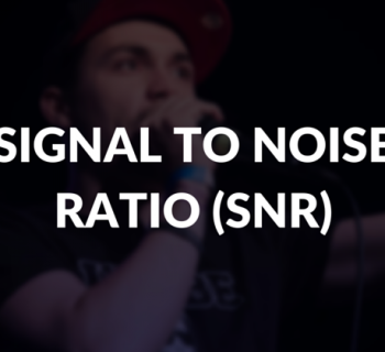 Signal to noise ratio (SNR) defined.