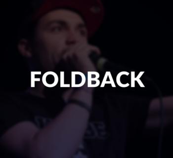 Foldback defined.