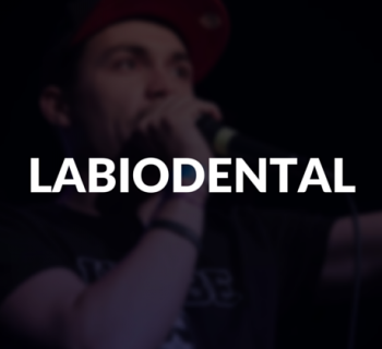 Labiodental defined.