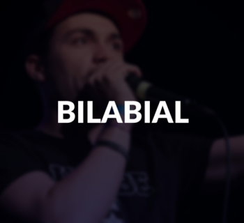 Bilabial defined.