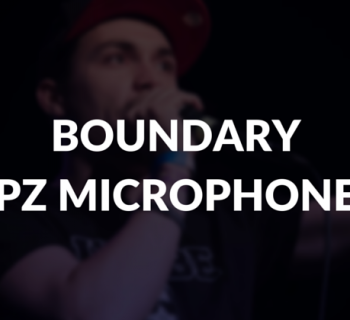 Boundary or PZ microphone defined.