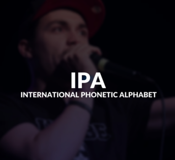 International Phonetic Alphabet (IPA) defined.