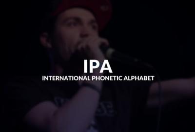 International Phonetic Alphabet (IPA) defined.