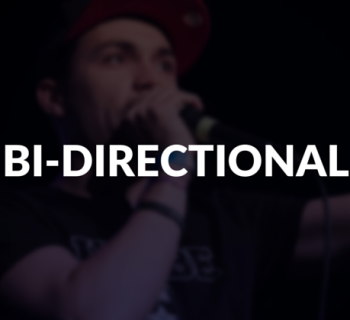 Bi-directional defined.