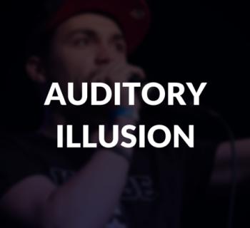 Auditory illusion definition.