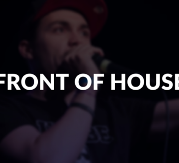 Front of house defined.
