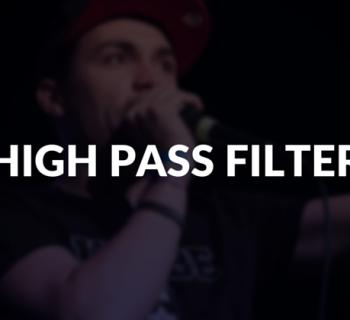 High pass filter defined.