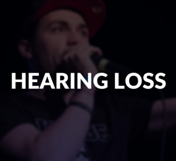 Hearing loss defined.