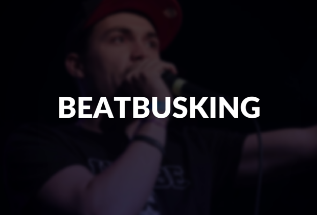 Read the definition for beatbusking!