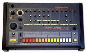 Roland 909. Classic drum machine