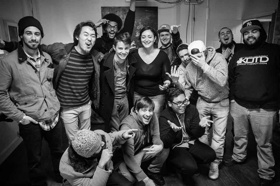 The Beatbox House group photo