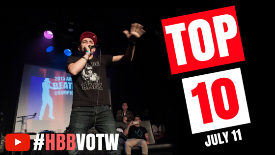 Here are the top 10 beatbox videos from the web this week.