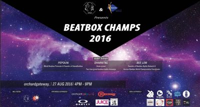 First annual singapore beatbox championship 2016