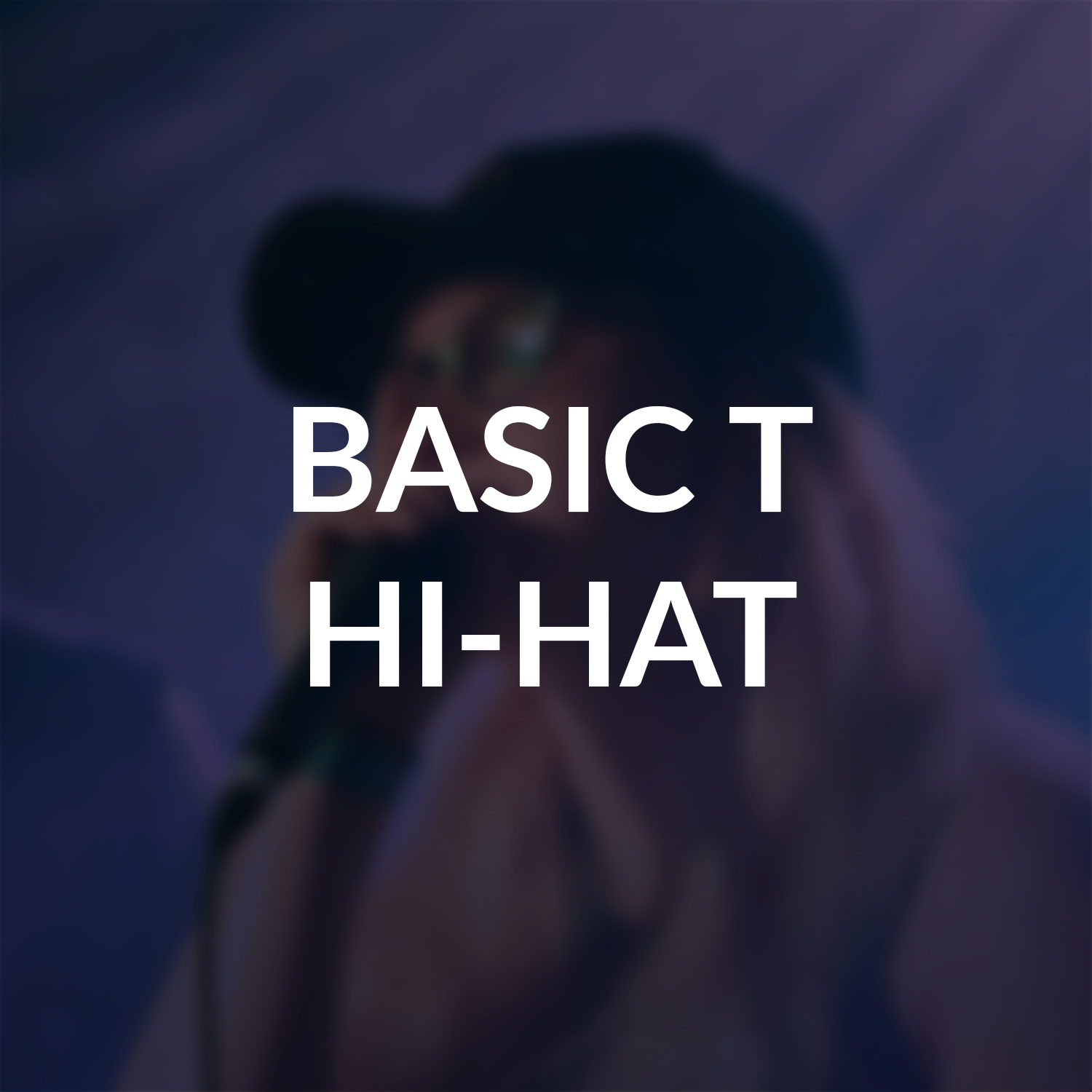 Basic T Hi-Hat Beatbox techniques. Learn to beatbox. Human Beatbox Sound Archive Thumbnail.