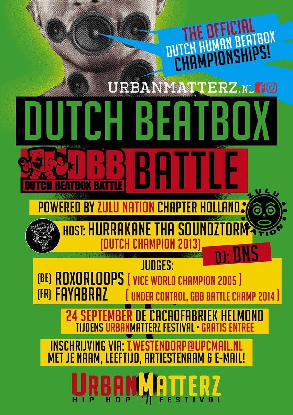 Dutch Beatbox Battle Championships 2016