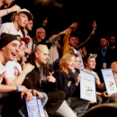 Beatbox family at the beatbox world championships in Berlin