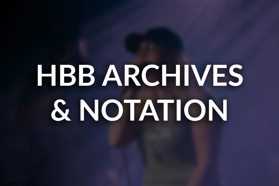 About the Human Beatbox Archives and Notation System