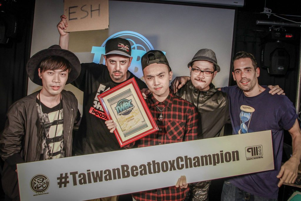 Jimix crowned Taiwan Beatbox Champion in 2015