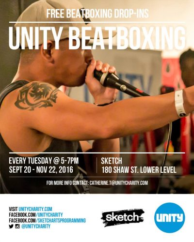 Free Unity Beatbox Classes | Drop-in