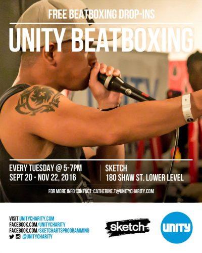 Free Unity Beatbox Classes   Drop-in