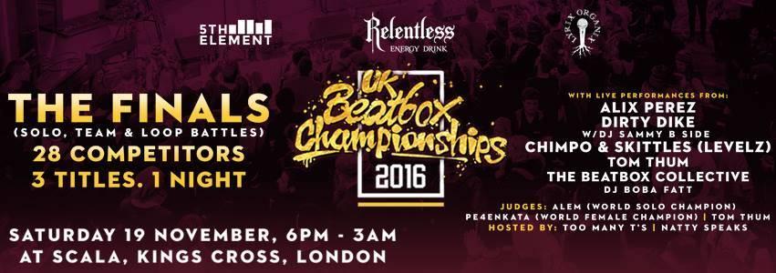 Uk Beatbox Championships 2016
