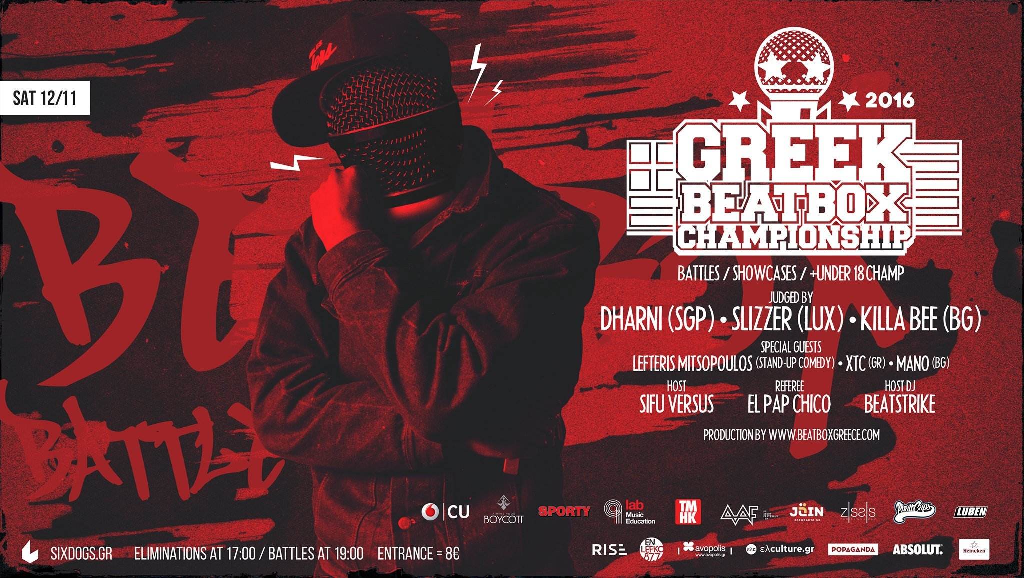 Greek Beatbox Championship 2016