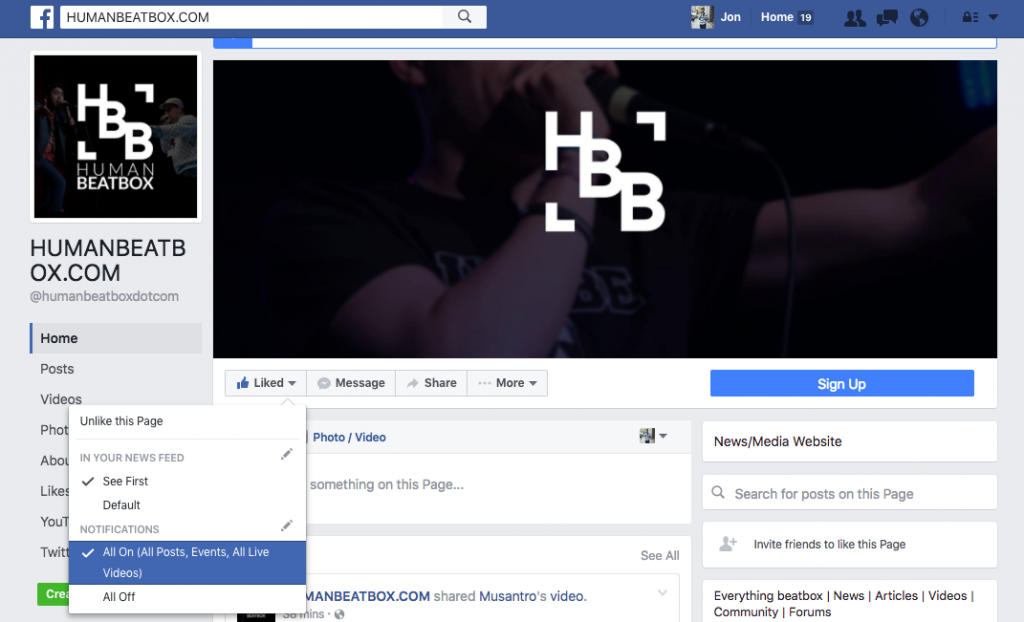 Follow humanbeatbox.com on Facebook!