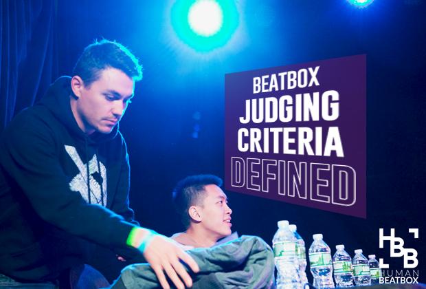 Beatbox Judging Criteria Defined