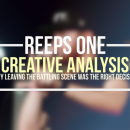 Reeps One: Creative Analysis
