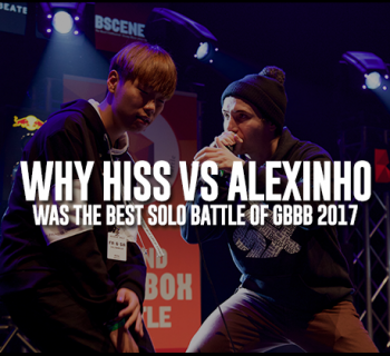 Hiss Alexinho Grand beatbox Battle