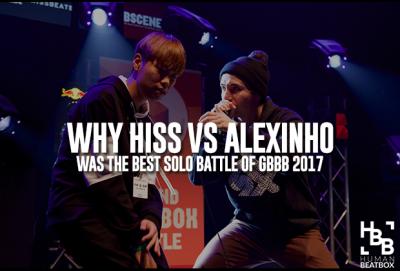 Hiss Alexinho Grand beatbox Battle