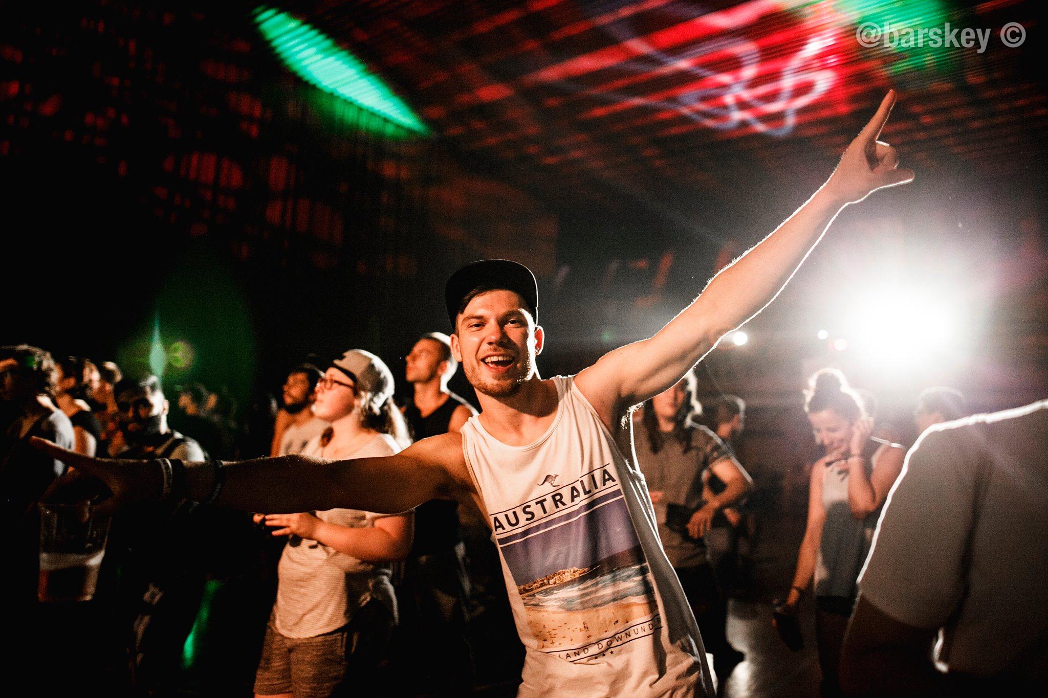 Slovakian beatboxer Rushin posing for the camera